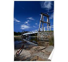 Swing Bridge - Lorne Poster