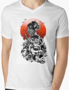The day of sakura Mens V-Neck T-Shirt