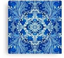 - Bright blue - Canvas Print