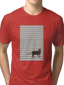 Cat on the Floor Tri-blend T-Shirt