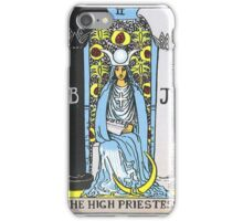 High Priestess Tarot iPhone Case/Skin