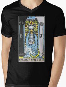 High Priestess Tarot Mens V-Neck T-Shirt