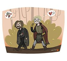 Jaime And Brienne  Photographic Print