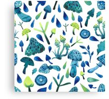 - Mushrooms pattern - Canvas Print