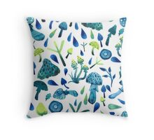 - Mushrooms pattern - Throw Pillow