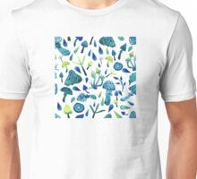- Mushrooms pattern - Unisex T-Shirt