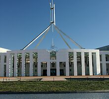 Forecourt - Parliament House, Australia by blackadder