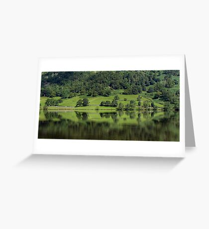 Rydal Water in August Greeting Card
