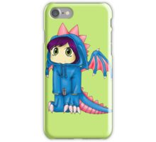 Rawr (Blue Version) iPhone Case/Skin