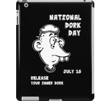 National Dork Day iPad Case/Skin