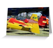 Red Bull Air Race 2007 Greeting Card