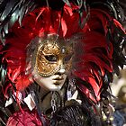 Venice mask by Loic Dromard