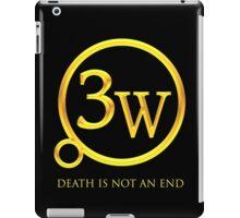 """3W Logo - """"Death is Not an End"""" iPad Case/Skin"""