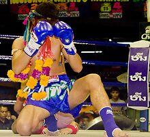 thai boxer by Loic Dromard