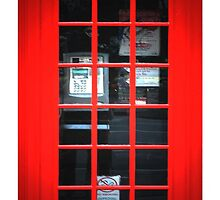 Red Telephone Box  by CantikaCase