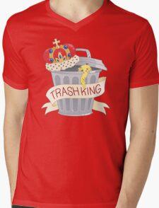 Trash King Mens V-Neck T-Shirt