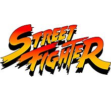 street fighter martial arts game Photographic Print