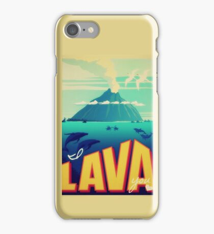 I lava you  iPhone Case/Skin