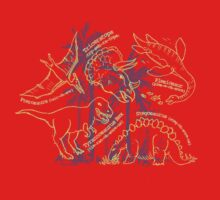 Dinosaurs how do you say design by Sarah Trett