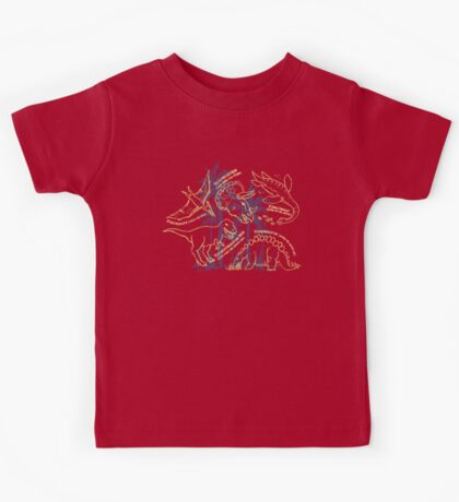 Dinosaurs how do you say design Kids Tee