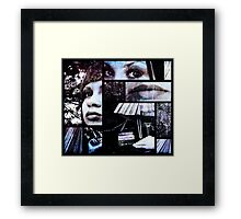 Temptation Waits Framed Print
