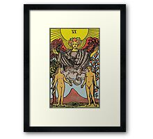 The Lovers Tarot Framed Print