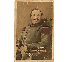 CapitanoCostantinoBenigno(This photo is 150years old) Photographic Print