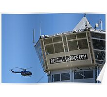 Red Bull Air Race - Helicopter Poster