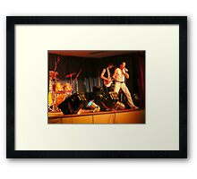 'QUEEN' Cover Band with Freddie Mercury. Framed Print
