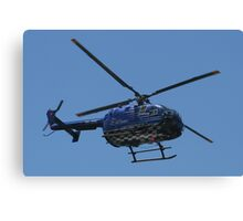 Red Bull Air Race - Helicopter Canvas Print