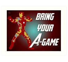Iron Man - Bring Your A-Game Art Print