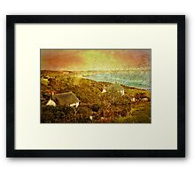 View from Church Cove Framed Print