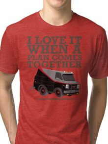 The A Team is the Best Team Tri-blend T-Shirt