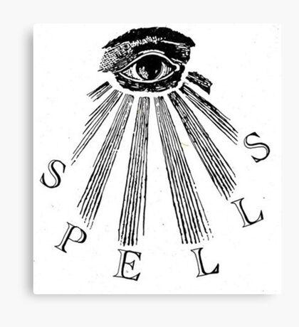 Spells Canvas Print