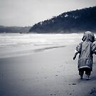 ...rainy beach... by Geoffrey Dunn