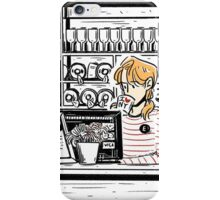 ENJOLRAS COFFEE SHOP iPhone Case/Skin
