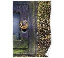 Small Garden Door Poster