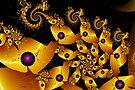 Mandi-series I - Golden Seahorse by viennablue