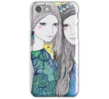 The Mirror and The Mask iPhone Case/Skin