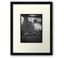 whippet Framed Print
