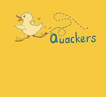 Baby duck waddling Quackers by Sarah Trett