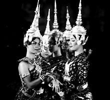 Cambodian Apsara by Loic Dromard