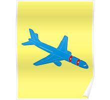 Airplane sousage Poster