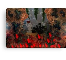 Dragons Fire Cave Canvas Print