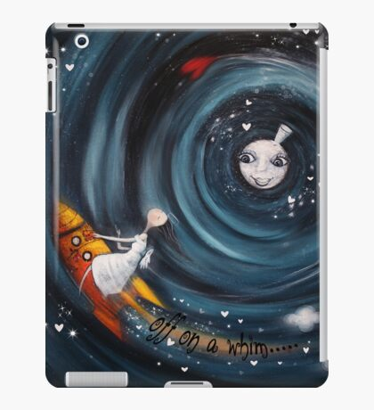 off on a whim.... iPad Case/Skin
