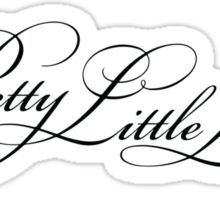 Pretty Little Liars Title - Black Sticker