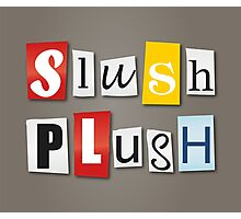 SlushPlush Logo Photographic Print