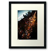 9th Avenue Framed Print
