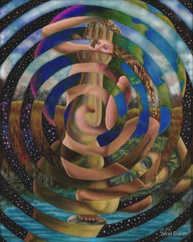 ''ATLAS AND APHRODITE'' by Jerel Baker
