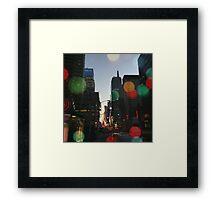 I Miss NY Framed Print